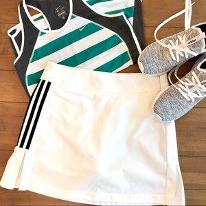 Pants - Adidas White Climacool Tennis Skort Size 4